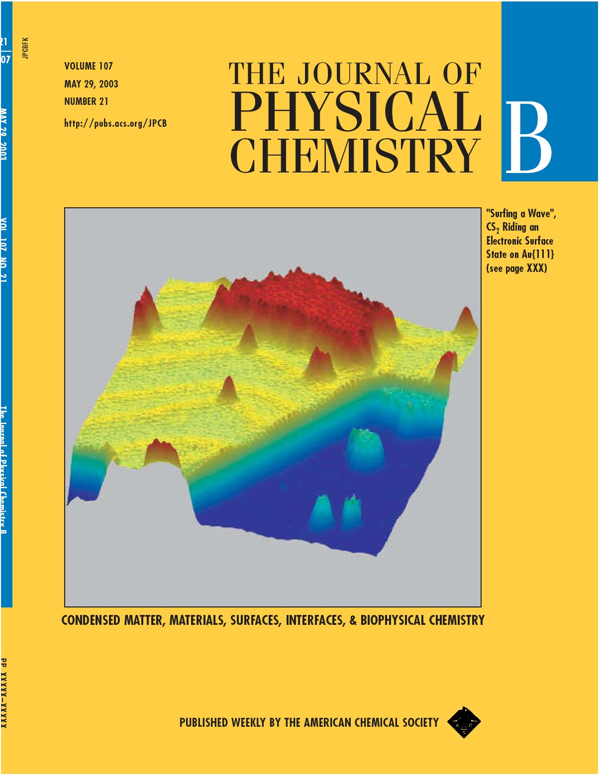 JPCB 2003 Cover!